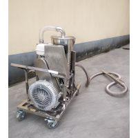 钢铁工厂清理地面铁屑铁块钢珠专用威德尔大功率汽油机吸尘器