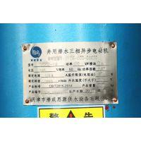 YQS井用潜水三相异步电动机 充水式电机 深井泵电机