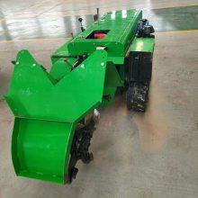 水冷柴油28马力开沟施肥回填机 富兴大棚施肥回填旋耕机 果园种植自走式回填机厂家价格