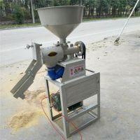 供应辽宁地区多功能碾米机加工机器 脱皮干净碾米机 不伤果粒富兴