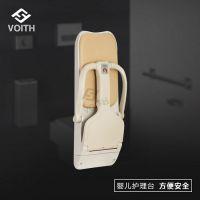 深圳购物广场卫生间挂壁式婴儿安全座椅婴儿床儿童尿布椅VT-8902
