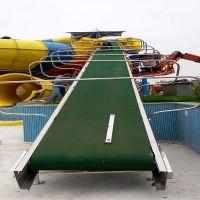 可移动水上乐园输送机/充气蹦床水上皮筏提升机/鲁宁