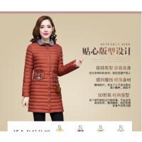 厂家直销加厚女式羽绒服批发便宜羽绒棉衣外套供应韩版女装外套批发
