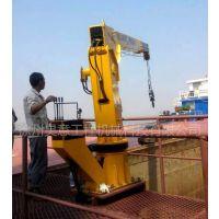 徐州昊意5吨船吊价格半径8.7米液压式手动操作