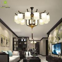 新中式吊灯客厅灯具中国风大吊灯餐厅卧室创意个性灯饰