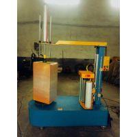 单个纸箱薄膜缠膜机 打包缠膜机 喜鹊机械