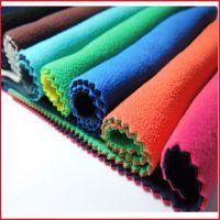 柯桥厂家 大量现货 阳离子双面聚酯纤维(涤纶)舒棉绒面料 沙发床品毛毯外套里料