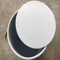 四氟圆形桶,不锈钢桶内衬聚四氟乙烯容器,耐腐蚀PTFE保温桶