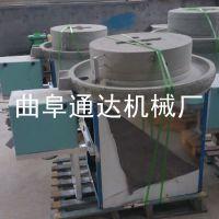 通达 多功能杂粮石磨机 新款荞麦面粉加工设备 低价促销 石磨面粉机械