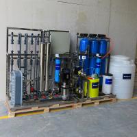 云南厂家直销曲靖化工工厂实验室超纯水反渗透+EDI工艺制取超纯水设备 华兰达品牌
