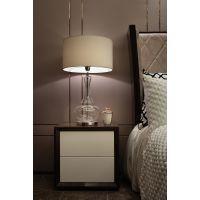 新中式床头柜卧室后现代黑色烤漆床边柜样板房酒店家具 成套家具