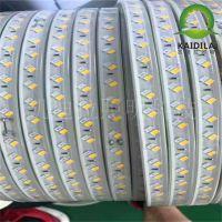 LED5730高压220V灯带超光亮防水直接接点软灯带厂家供应