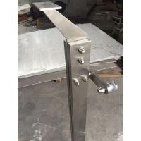 江苏泰州天波幕墙厂家直销304不锈钢搭片立柱 可定制