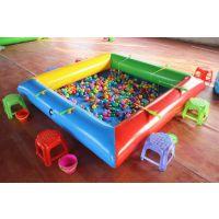 做活动用的加厚充气水池,家用摆地摊磁性钓鱼玩具水池