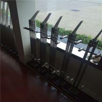 耀恒 不锈钢栏杆扶手 挂玻璃不锈钢立柱扶手