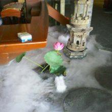 室外人造雾效 雾森加湿系统图片 案例(白城|通化|白山|辽源|公主岭||儋州)