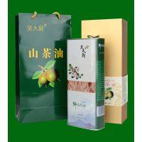 吴大厨山茶油1.6l农家茶籽油食用油月子油礼盒装