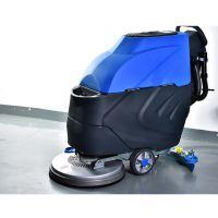 嘉航手推式洗地机JH-650价格 西安超市工厂车间用洗地机
