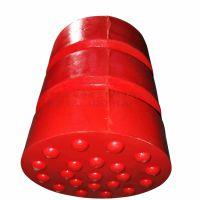 卷扬机/塔吊/装卸机防撞设备 聚氨酯材质缓冲器 安尔特a-10型矿车缓冲器图片