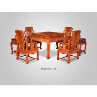 浙江杭州大清御品红木家具批发厂大果紫檀盛世御品沙发10件