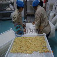 巴沙鱼柳裹糠设备 巴沙鱼柳生产设备厂家 上浆裹糠生产线