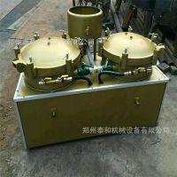 自带加热功能双缸气压滤油机 食用油滤油机 香油过滤机