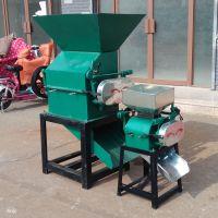 食品加工轧扁机 厂家直销大豆高粱压扁机 高效花生米破碎机