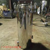 厂家直销 中水回用超滤设备前置单芯固定保安过滤器 价格实惠