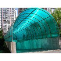 经典品牌午阳pc双层阳光板3mm实心耐力版高品质波浪瓦通道出入口专用