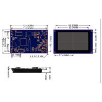 7寸65K真彩色带触摸串口液晶显示器