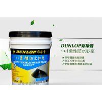 邓禄普1+1柔性防水砂浆 卫生间防水涂料 防水灰浆 厨卫防水