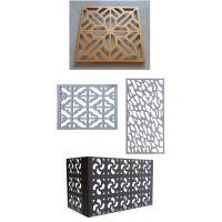 铝单板厂家按图纸设计生产室内外异形不规则孔透气铝天花