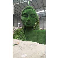 大型绿雕摆件