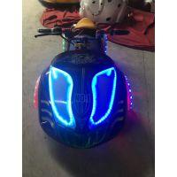 广场漂移卡丁车新款电瓶碰碰车 蜗牛碰碰车幻影摩托车 新款太子摩托儿童蜗牛车
