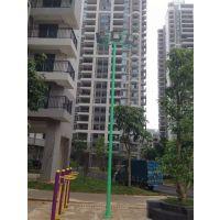 广西来宾篮球场灯杆室外照明运动灯杆价格优惠南宁飞跃体育