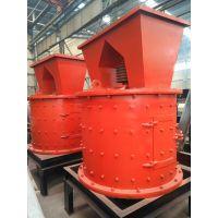 甘肃临夏天旺800型立式高效复合破碎机用于煤石灰石破碎工作