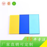 上海捷耐厂家定制 装潢装饰专用pc板材 4mm耐力板