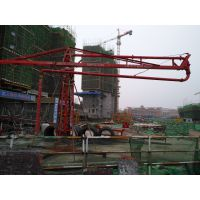 四川内江鑫旺HG20米可拆卸高层钢筋网浇筑布料机