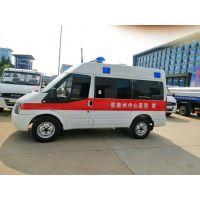 福特V348短轴中顶120运输型救护车4963*2000*2400