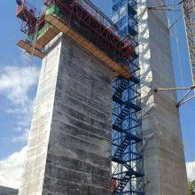 供应四川箱式防护网安全爬梯搭建简单合理通达总公司