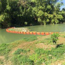 水面围垃圾浮筒 水库入口做一道拦污浮排造价