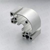 4080DR半圆铝型材 欧标支架 铝型材设备