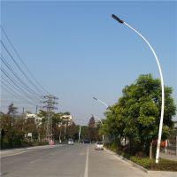 文昌马路照明灯杆柱有8米么 镀锌管灯柱配LEd灯 400W灯照亮平谷线将通河北