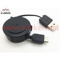 单头拉伸线,MICRO5P USB转USB A公单边拉伸线