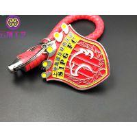 金属钥匙扣定制 批发广告礼品钥匙链 活动宣传匙扣挂件订做厂家