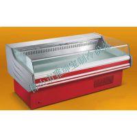 RG-20P 鲜肉柜展示柜猪肉冷藏保鲜柜 风冷保鲜柜超市敞开式鲜肉柜 拉帘式