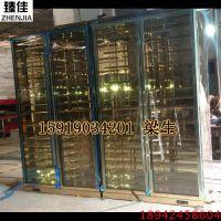 不锈钢恒温酒柜定制酒店别墅简约现代不锈钢红酒柜