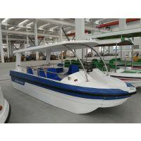 飞碟游艇自主研发的电动船、电瓶船,样式新颖,深受公园游客喜爱!