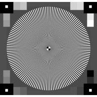 sineimage赛麦吉/ESSER爱莎镜头分辨率测试卡TE253标定板