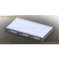 1U铝型材机箱+3个标配LGX盒